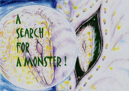 Photograph of A Search For A 'Monster' Writer!