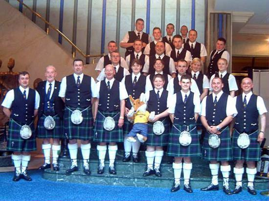 Photograph of Thurso Pipe Band Visit To Brilon August 2002