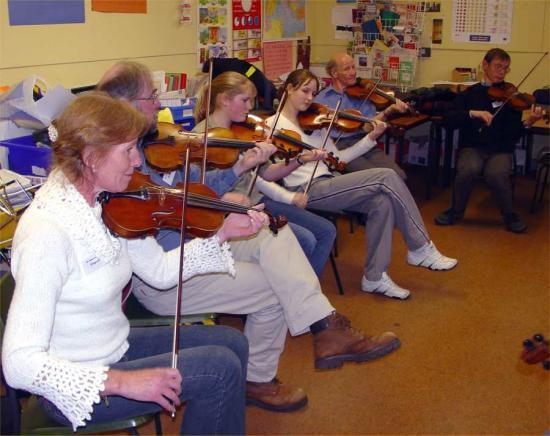 Photograph of Traditional Music Workshops A Big Success In Caithness
