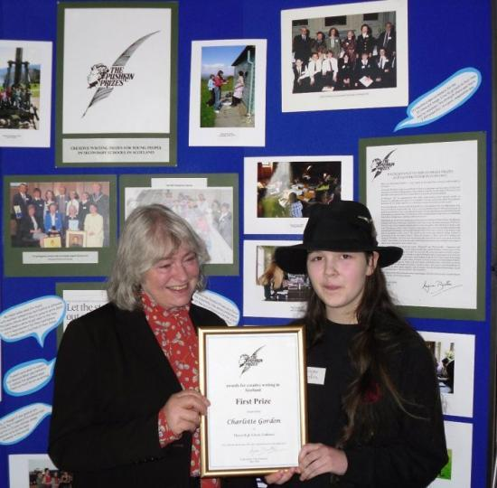 Photograph of Thurso High School Pupil Wins First Prize In Pushkin Awards