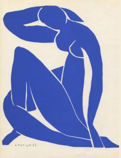 Photograph of Matisse: Drawing with Scissors - Exhibition At Swanson Gallery