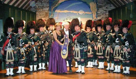 Photograph of New Baldrick For Wick Pipe Band
