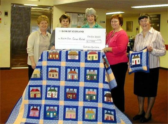 Photograph of Quilt Draw Winner