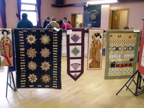 Photograph of Caithness Quilters - Another Successful Exhibition And Coffee Morning