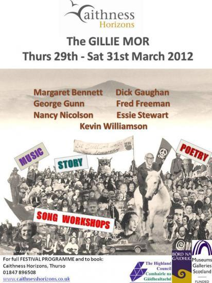 Photograph of The GILLIE MOR 2012 - 29th-31st March